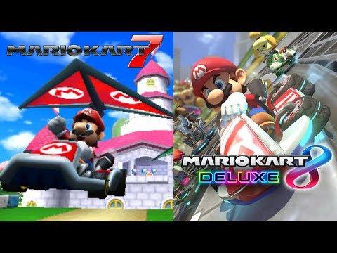 Test Stream - Mario Kart 7, Then Mario Kart 8 Deluxe At 1:30PM EST!