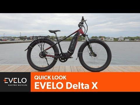Evelo Delta X Electric Bike Evelo