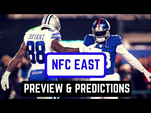NFC East Division Preview | 2017 NFL Predictions
