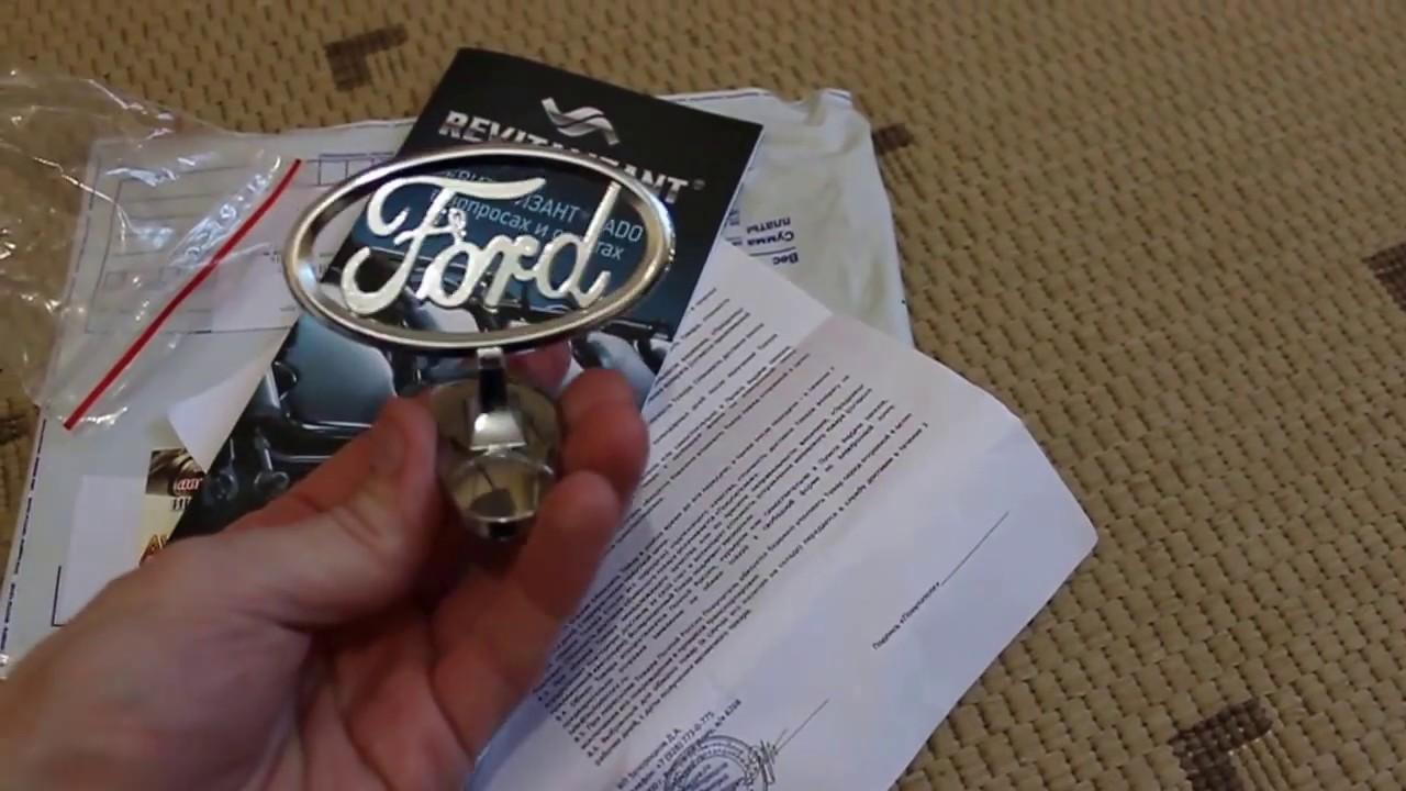 Газовый упор капота на Ford Focus 2 - YouTube