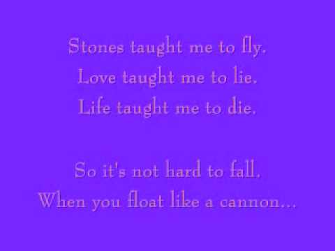 Cannonball - Damien Rice- With Lyrics