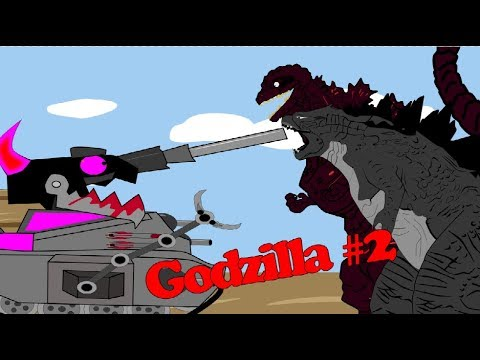 Mundo De Tanque : Tanque Alienígenas Vs Godzilla Kaiju - Part 2