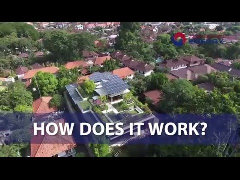 Solar power without up front investments in Indonesia