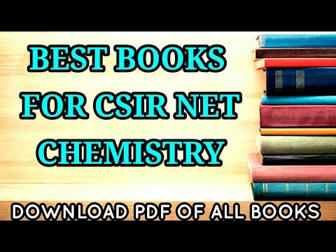 BEST BOOK FOR CSIR NET/JRF CHEMISTRY- PDF AVAILABLE