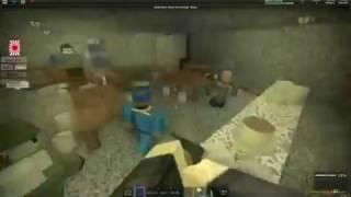 Rare Footage of SWAT Raid on Denny's - ROBLOX IJA