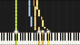 "Beethoven: ""Pastorale"" Piano Sonata No. 15 in D major - Complete [Piano Tutorial] (Synthesia)"