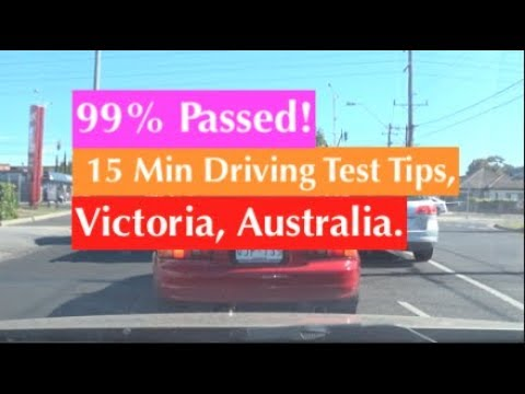 15 Min HOW TO PASS DRIVING (TEST VIDEO MELBOURNE, AUSTRALIA)