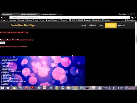 Online Emotion Based Music Player