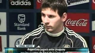Messi faz elogios a Neymar e diz: