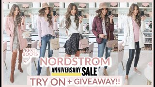 HUGE NORDSTROM ANNIVERSARY SALE TRY ON HAUL 2020 + GIVEAWAY!!!