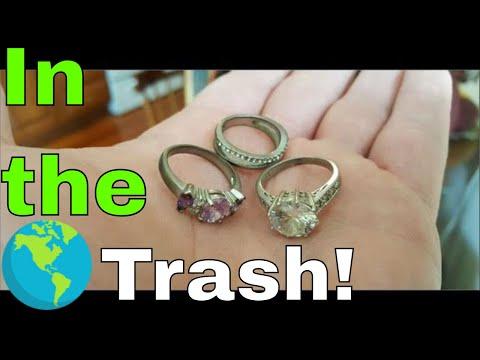 Rings Jewelry & Nikon Found Scrapping