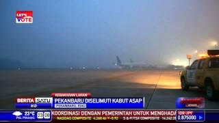 Kabut Asap Ganggu Jadwal Penerbangan di Pekanbaru