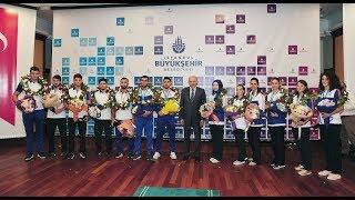 Başkan Uysal Şampiyon sporcularımızı ödüllendirdi...
