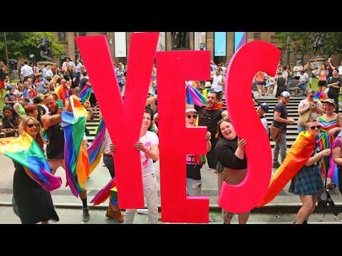 7.8M Australians vote 'yes' to same-sex marriage