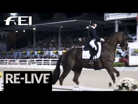 LIVE 🔴  FEI World Cup™ Dressage (NAL) - Grand Prix Freestyle - Devon (USA)