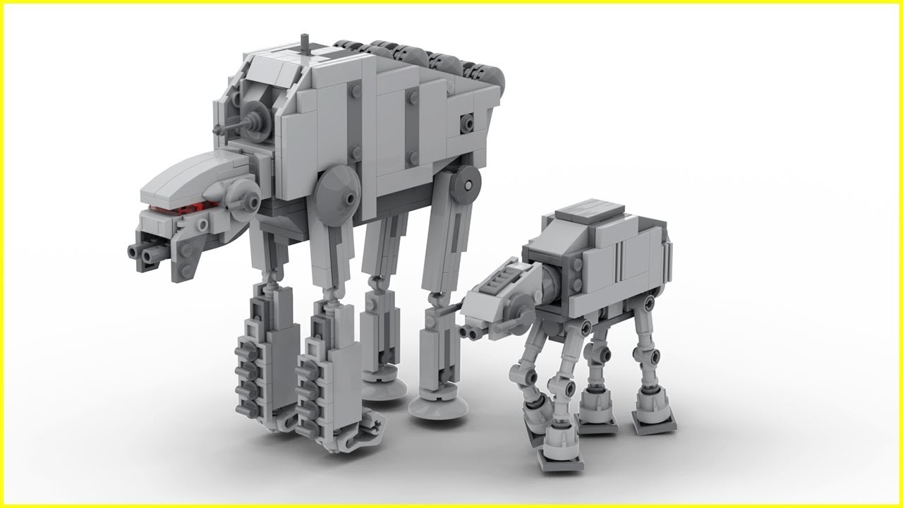 Lego At M6 Starwars 1225 Microscale Instructions