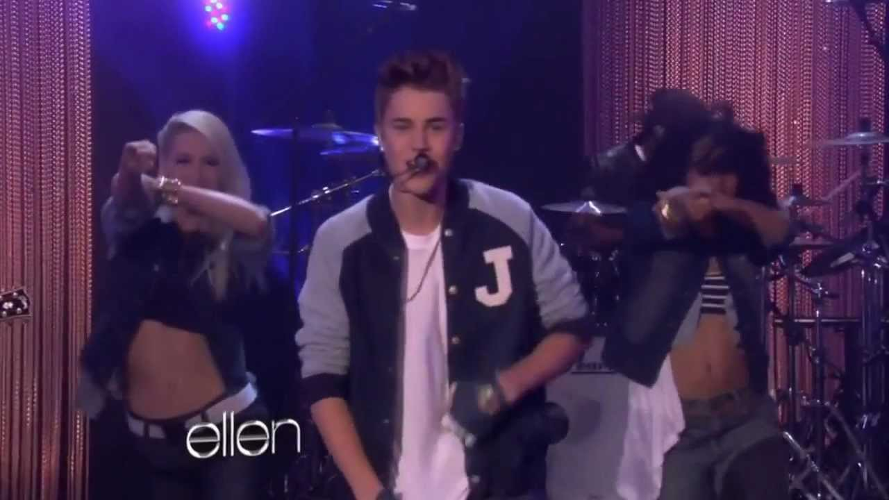 Justin bieber performs boyfriend at the ellen degeneres show youtube - Ellen show live ...