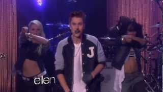 Justin Bieber Performs Boyfriend at The Ellen DeGeneres Show Mp3