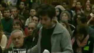 DN! UC Berkeley Student Senate Fails to Override Veto of Israel Divestment Measure.flv