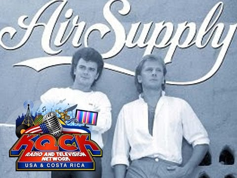 AIR SUPPLY RARE EXCLUSIVE INTERVIEW KQCK RADIO