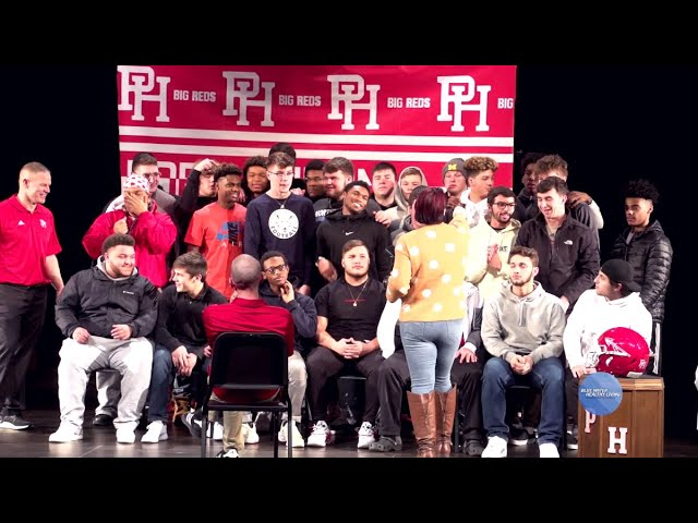 Port Huron High holds signing day for four football players moving on