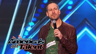 Joe Matarese: Standup Comic Pokes Fun at Family - America's Got Talent 2014