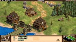 Age of Empires 2 HD Edition - Genghis Khan - Pax Mongolia Walkthrough Gameplay