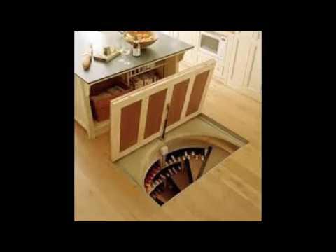 Wine Cellar Kitchen Floor - YouTube