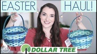 EASTER DOLLAR TREE HAUL! with AprilAthena7   Natalie Bennett