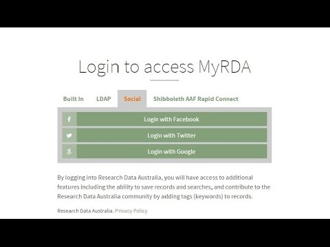 Personalise your search experience in MyRDA