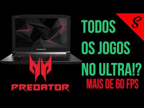 Notebook Gamer Acer Predator Helios 300 PT BR