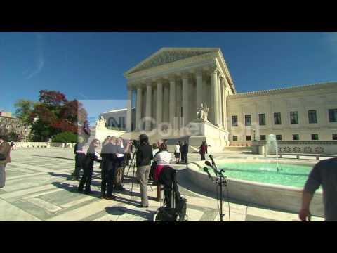 DC:SUPREME COURT EXTERIORS- WEDNESDAY