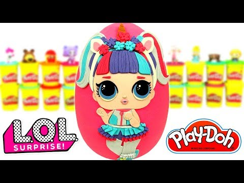LOL Unicorn Sürpriz Yumurta Oyun Hamuru Poopsie Slime Oyuncak LOL Glitter Sürpriz Oyuncak