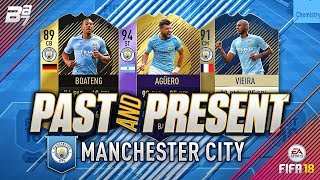 PAST AND PRESENT MAN CITY SQUAD BUILDER! | FIFA 18 ULTIMATE TEAM