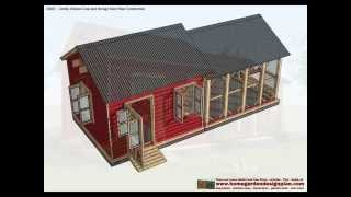 Cb201 - Combo Chicken Coop Plans Construction + Storage Shed Plans Construction