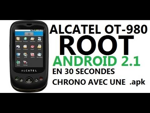 Jailbreak System - Rootez votre Alcatel OT 980 (HD)
