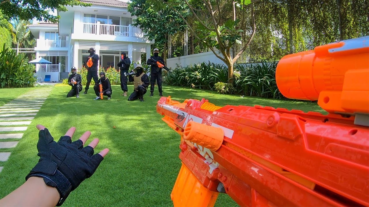 Download Nerf War: Rich Kids vs Thieves 2 (First Person Shooter)