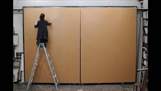 画家・遠藤彰子(Akiko Endo)の2018年作「海暮れゆけばただ仄かなる」...