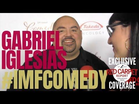 Gabriel Iglesias interviewed at International Myeloma Foundation 12th Comedy Celebration #IMFComedy