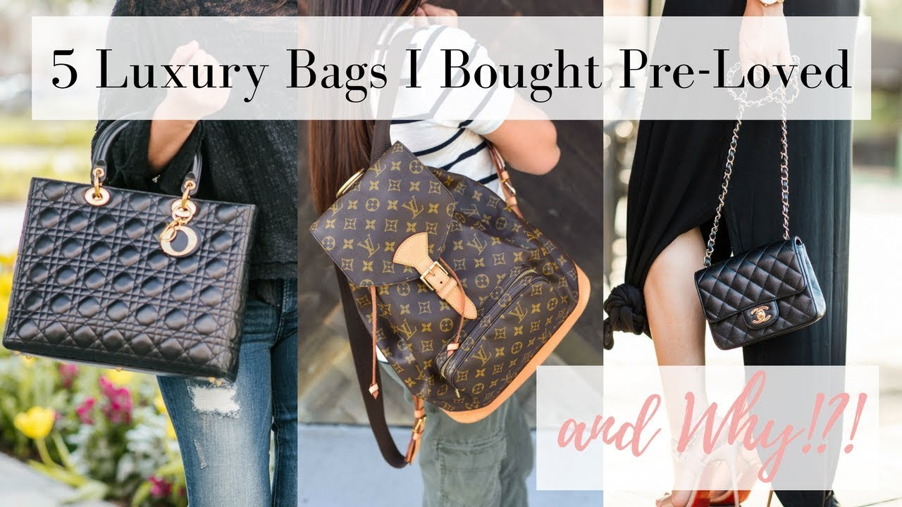 5 Luxury Handbags I Bought Pre Loved