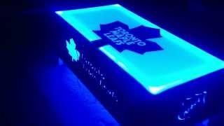 Toronto Maple Leafs Coffee Table Led