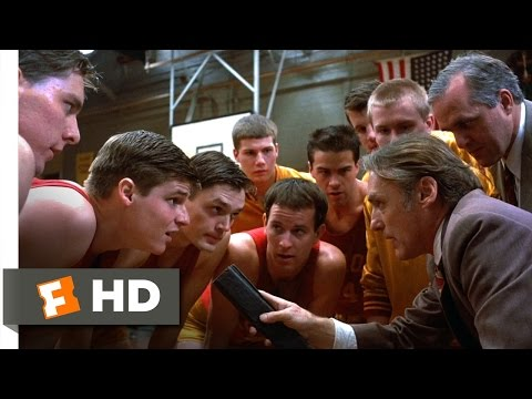 Hoosiers (7/12) Movie CLIP - Shooter Runs the Picket Fence (1986) HD