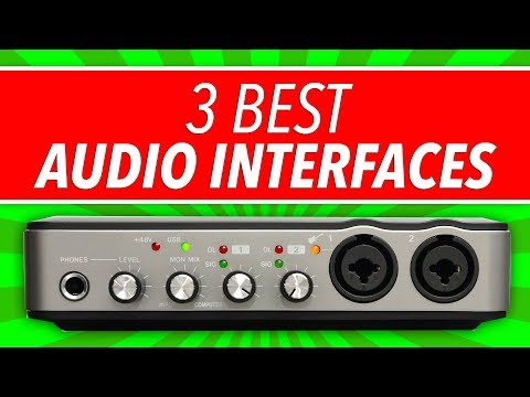 Best Audio Interface: 3 Top Picks You Need To Know (2018) - BehindTheSpeakers.com