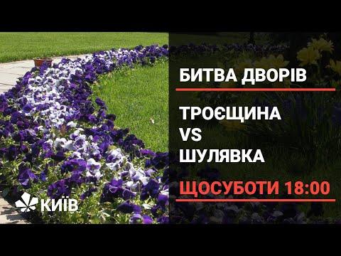 Битва жителів Троєщини та Шулявки за найкращу клумбу