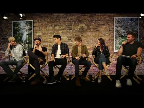 The Maze Runner The Scorch Trials Cast Interview with Dylan O'Brien Kaya Scodelario Thomas Sangster