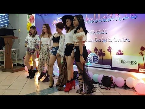 [VIDEO] - Coachella / Bohemian Party Theme - Best in Outfit Contest [EGC Christmas Party] 1