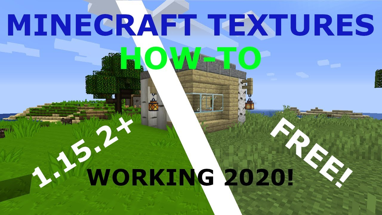 How To Get TEXTURE PACKS In MINECRAFT JAVA 1.15.2+ (✓Working 2020✓)