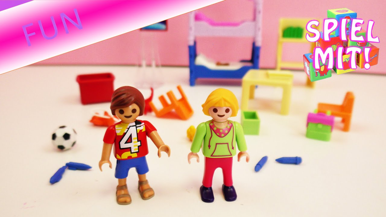 Playmobil film deutsch chaos im kinderzimmer witzige for Kinderzimmer playmobil