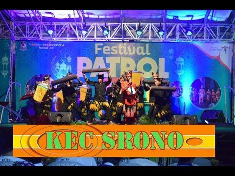 Festival Tetek Kec Srono di Patrol Banyuwangi 2018 Alunan Musik Sahur