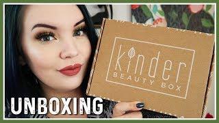 Kinder Beauty Box Unboxing | February 2019